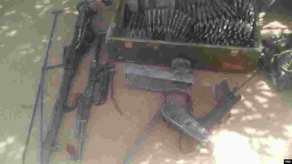 Kwanton-baunar da sojojin Birged ta 27 suka yi ma 'yan Boko Haram a Goniri dake karamar hukumar Gujba a Jihar Yobe