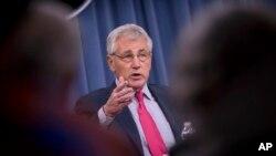 El secretario de Defensa, Chuck Hagel, negó que las tropas en Irak vaya con el objetivo de enfrentarse a insurgentes.
