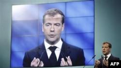 Дмитрий Медведев. Ярославль. 8 сентября 2011 г.