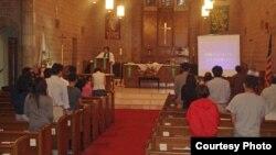 미국 뉴욕의 첫 탈북자 교회인 '빛나리 교회'. (자료 사진)