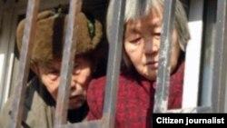 黑监狱铁窗后等待营救的湖南访民