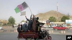 Taliban militanları (Arşiv foto)