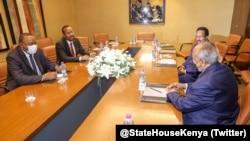 IGAD leaders of Somalia, Kenya, Djibouti Ethiopia
