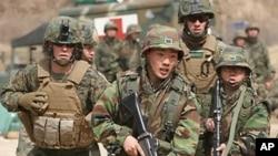 美韓舉行年度軍事演習