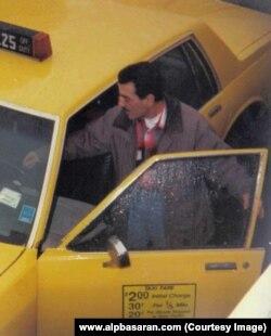 Alp Başaran'ın babası taksi şoförlüğü yaptığı yıllarda