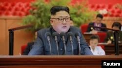 朝鲜领导人金正恩(资料图)