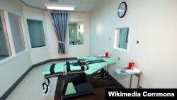 Phòng thi hành án tử hình bằng cách tiêm thuốc độc tại một nhà tù ở Mỹ