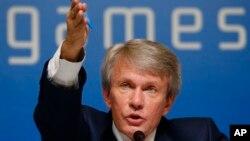 乌克兰全国残疾人奥委会主席索斯克维奇在3月7日的记者会上