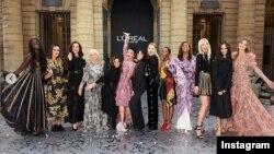 لورئال در حاشیه هفته مد پاریس رژه ای را با پیام توانمندسازی زنان روی صحنه برد