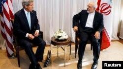 Госсекретарь Джон Керри и глава иранского МИД Мухаммад Джавад Зариф