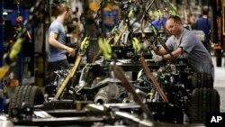미국 캔자스 시티의 포드 자동차 공장 (자료사진)