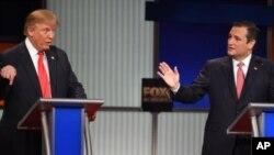 تد کروز، سناتور از ایالت تکزاس، پس از ترمپ جایگاه دوم را در جمع کاندیدان جمهوریخواه دارد.