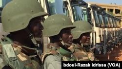 Lutte contre le terrorisme : les Etats Unis d'Amérique appuient le Niger dans le cadre du contrôle de ses frontières, à Mainé Soroa dans la région de Diffa, au Niger, le 5 septembre 2016. (VOA/Abdoul-Razak IDRISSA)