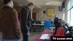 Glasanje na izborima u Beranama (izvor: RTCG)