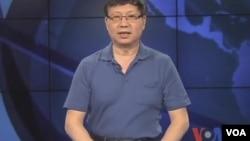 胡锦涛捡国旗真相揭秘(视频截图)