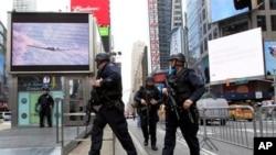 دہشت گردی کا منصوبہ بنانے کے شبے میں نیویارک سے دو افراد گرفتار