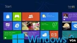 La nueva pantalla de inicio presenta información esencial de un solo vistazo, similar a Windows Phone.