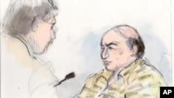 美國地方法院週三判處馬克巴塞利尤瑟夫在聯邦監獄監禁一年。