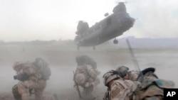 طالبانی که در سقوط هلیکوپتر ناتو در افغانستان دست داشتند، کشته شدند