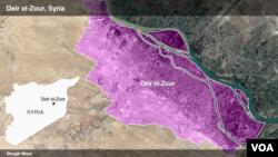 Provinsi Deir el-Zour, Suriah timur (foto: ilustrasi).