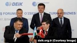 Istanbulda o'tgan biznes forumda hamkorlik bitimlari imzolandi