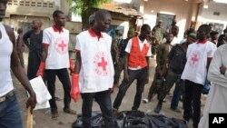 wani yankin Maiduguri da aka 'yan kungiyar Boko Haram suka kai hari