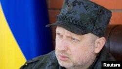 Исполняющий обязанности президента Украины, глава парламента Александр Турчинов.
