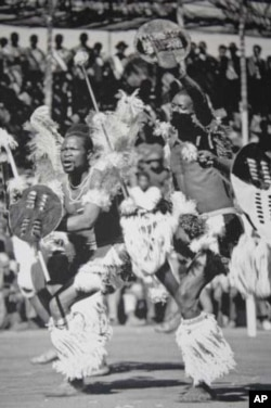 In South Africa, Hugh Tracey studied the music and dancing of the Zulu people