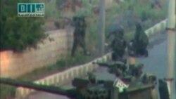 هجوم مجدد سربازان سوری به شهر درعا برای ارعاب مردم