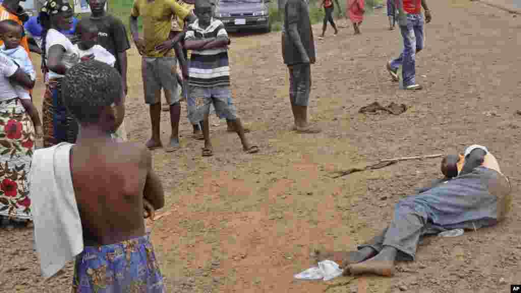 Cutar Ebola a Monrovia, Liberia, 12 ga Satumba, 2014.