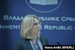 Željka Cvijanović, predsjednica Vlade Republike Srpske, Beograd, 2017.