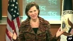 Juru bicara kementrian luar negeri AS, Victoria Nuland (Foto: dok).