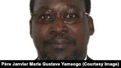 Père Janvier Yaméogo joint par Claire Morin-Gibourg