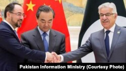 VOA Asia China attempts to bring Pakistan and Afghanistan to the negotiating table