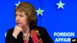 欧盟外交政策主管凯瑟琳•阿什顿。