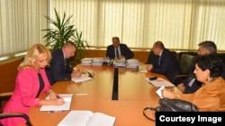 Ministri Vijeća ministara BiH sa delegacijom USK