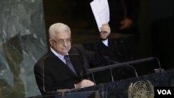 Pidato Presiden Mahmoud Abbas di PBB (23/9) mengenai permohonan Palestina untuk menjadi negara anggota penuh PBB menimbulkan rekasi yang berbeda baik di Tepi Barat dan Jalur Gaza, maupun di Israel.
