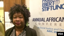 Abangene umhlangano owe Annual African Youth Conference on Social Justice and Democracy