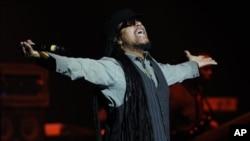 Maxi Priest performing last week in Hollywood, Florida