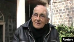 Pastor Jesuit berusia 75 tahun, Frans Van Der Lugt, di Homs, Suriah. (Foto: Syrian Observatory for Human Rights)