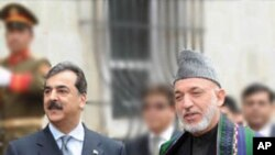 巴基斯坦及阿富汗領導人在喀佈爾會面。
