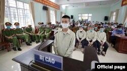 Toàn cảnh phiên tòa tại Tòa án Nhân dân tỉnh Quảng Ninh ngày 4/8/2020