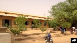 Cour d'école à Gao, dans le nord du Mali