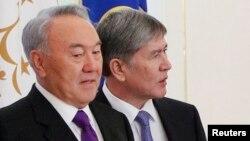 Qozog'iston rahbari Nursulton Nazarboyev, Qirg'iziston prezidenti Almaz Atambayev