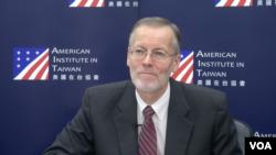 美國在台協會台北辦事處長酈英杰。