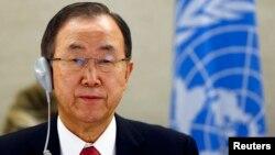 El secretario general de la ONU, Ban Ki-moon, hizo un llamado al gobierno venezolano a respetar los derechos de expresión de la gente.
