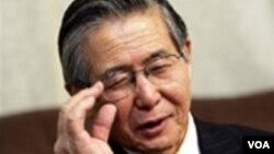 Alberto Fujimori cumple una condena de 25 años por crímenes contra los derechos humanos.