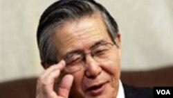 Alberto Fujimori padece de cáncer recurrente en la lengua y depresión severa.