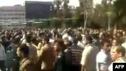 Protesti u sirijskom gradu Deri