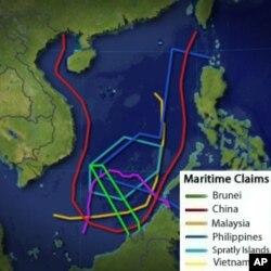 چین کا سمندری تنازع پر طاقت استعمال نہ کرنے کا اعلان